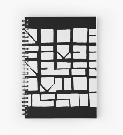 NUCLE... (WHITE SPACE) Spiral Notebook