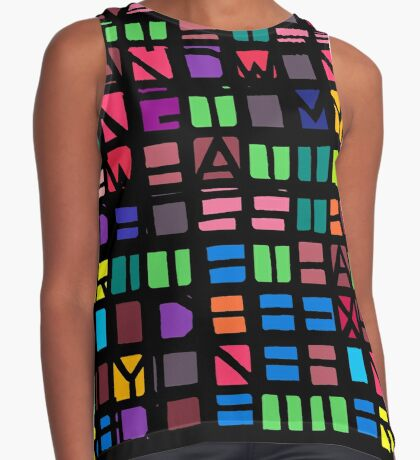 IWASLOOKIN... (COLOUR SPACE) Sleeveless Top