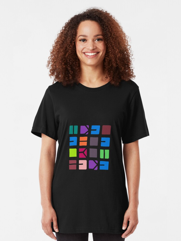 Alternate view of IDEL... (COLOUR SPACE) Slim Fit T-Shirt