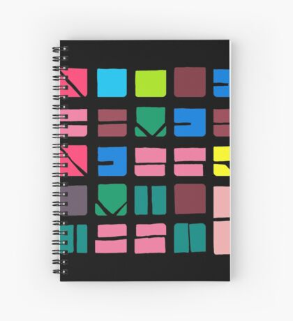 NUCLE... (COLOUR SPACE) Spiral Notebook