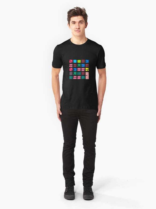 Alternate view of NUCLE... (COLOUR SPACE) Slim Fit T-Shirt