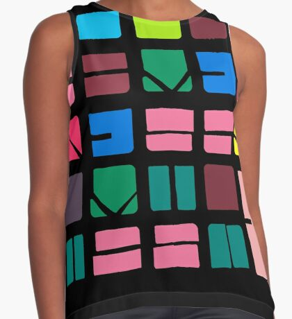 NUCLE... (COLOUR SPACE) Sleeveless Top