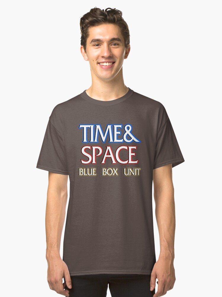 Time & Space Classic T-Shirt Front