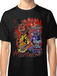Fnaf 4 - Nightmare  Classic T-Shirt