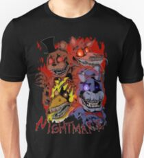 Fnaf 4 - Nightmare  Unisex T-Shirt