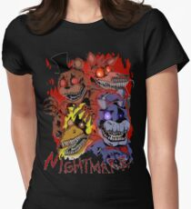 Fnaf 4 - Nightmare  Women's Fitted T-Shirt