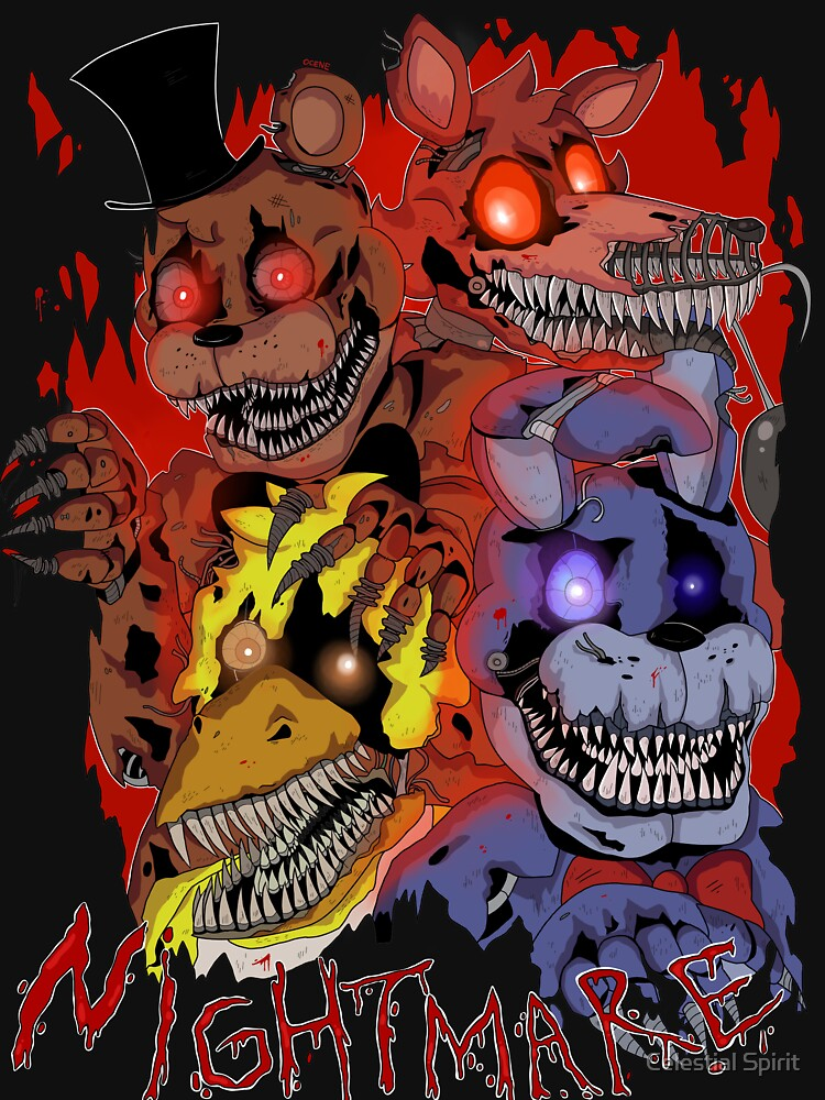 Fnaf 4 - Nightmare  by Ocene