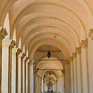 Walking down under the arches by Elena Skvortsova
