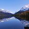 MAJESTIC MOUNTAIN RANGE REFLECTIONS