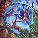 Three Hares by dashinvaine