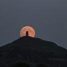 Glastonbury Moonrise by Dan Cooke Photography