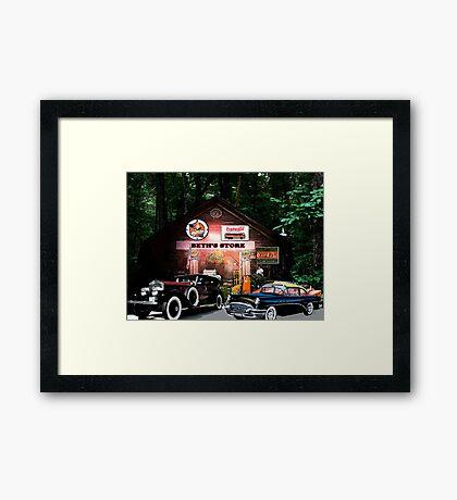 Beth's Store Framed Print