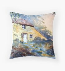 The Dwelling, Hawnby Throw Pillow
