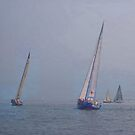 """Sailing in the Sound by Christine """"Xine"""" Segalas"""