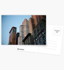 Postales Manhattan Buildings