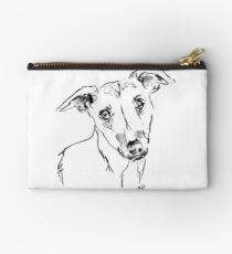 Whippet Drawing Studio Pouch