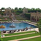 Oberoi Agra's swimming pool  by John Mitchell