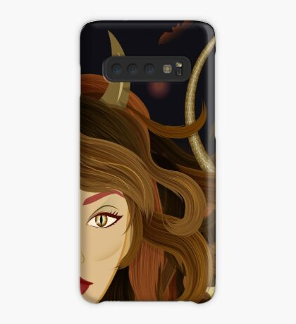 Witch devil girl Case/Skin for Samsung Galaxy
