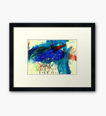 Rain Monday Framed Print
