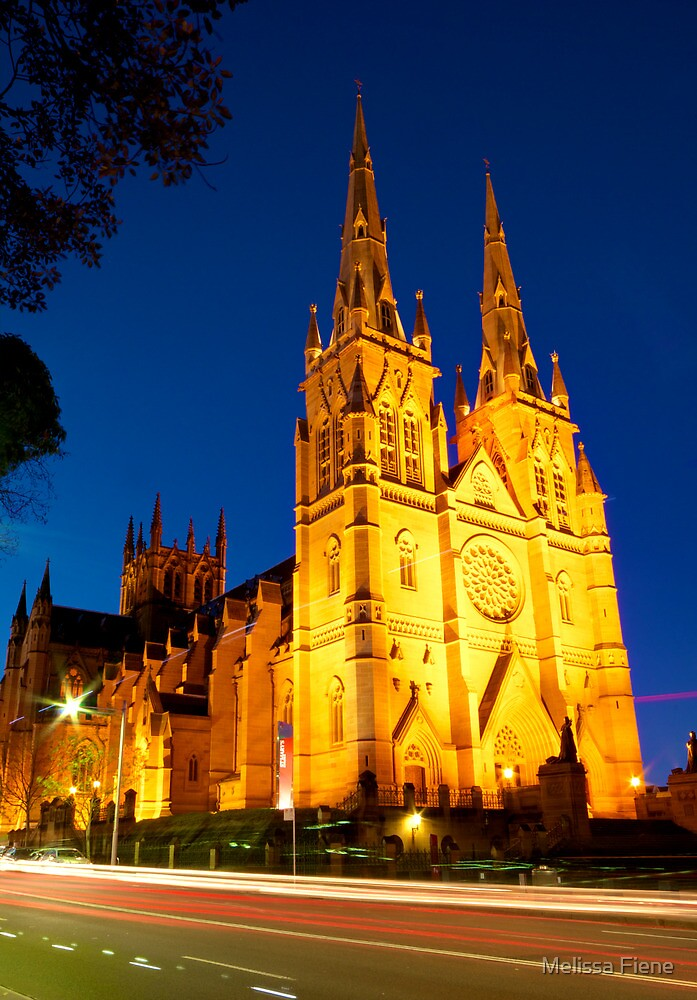 St Mary's Cathedral by Melissa Fiene