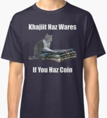 Khajiit haz wares - V.3 classic meme Classic T-Shirt