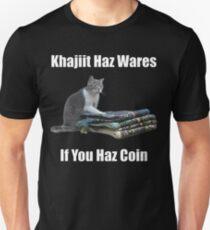 Khajiit haz wares - V.3 classic meme Slim Fit T-Shirt