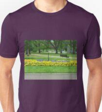 Gardens in Park - Melbourne Vic. T-Shirt