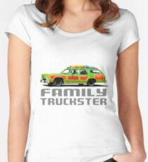 Wagon Queen Family Truckster Women's Fitted Scoop T-Shirt