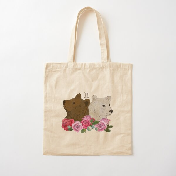 Gemini Cotton Tote Bag