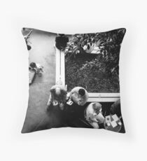 The Music Lover Throw Pillow