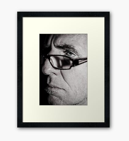This is Serious! Framed Print