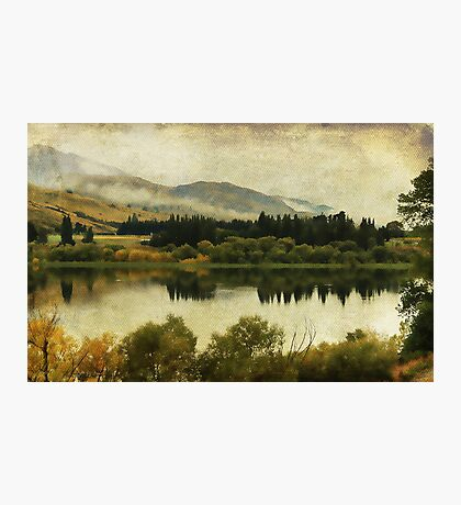 Autumn on the Lake Photographic Print