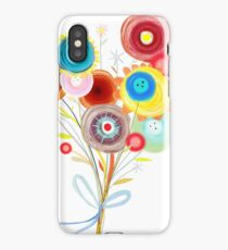 Awesome Wedding Bouquet Ranunculus iPhone Case