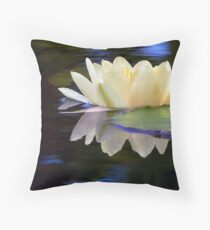 A Light On The Water Throw Pillow