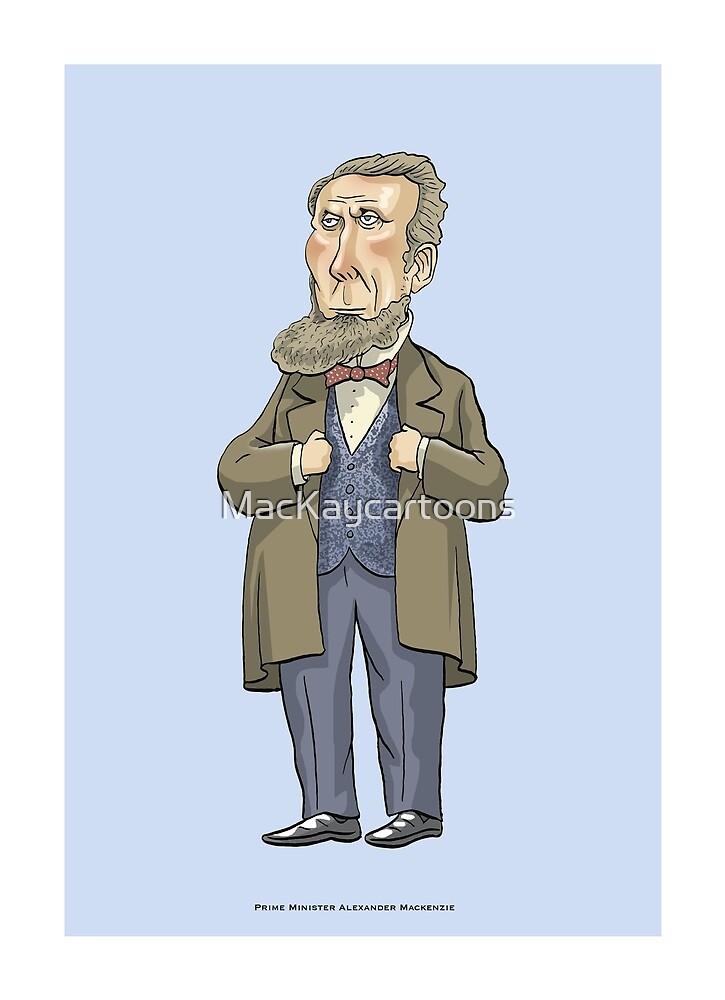 Alexander Mackenzie by MacKaycartoons