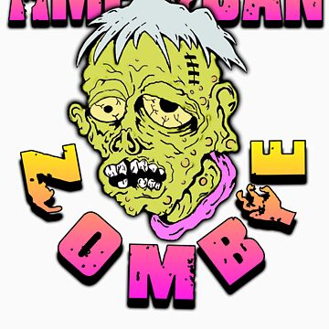 American Sad Zombie  by americanzombie