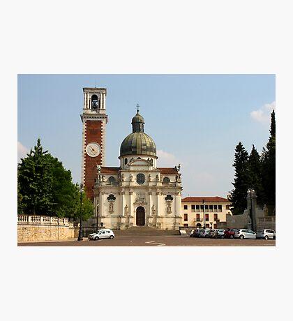 Basilica di S. Maria di Monte Berico Photographic Print