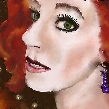 Portrait of Jennifer by Picatso