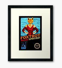 Foxtrot 8-bit Framed Print