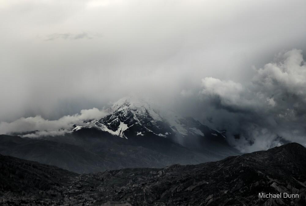 Shy (Illimani Peak) by Michael Dunn