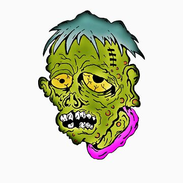 American Sad Old Sick Zombie  by americanzombie