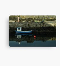 Old Harbour, Portsoy Canvas Print