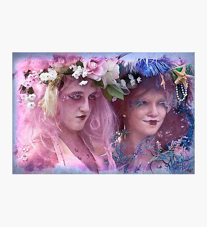 The Kostume Girls at the Mermaid Parade 2011 Photographic Print