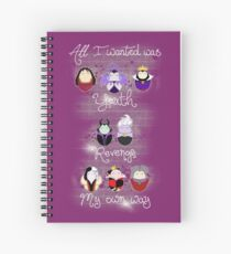 The Wicked Ladies Spiral Notebook