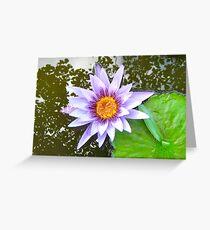 Waterlily 2011 v.1 Greeting Card