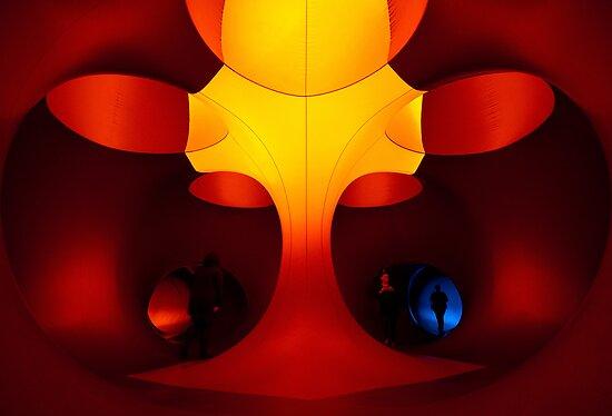 The Tree - inside Levity III by Lamar Francois