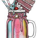 """The Bard"" Monster Milkshake - Birthday Cake by Kiel Chenier"