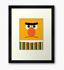 Bert Framed Print