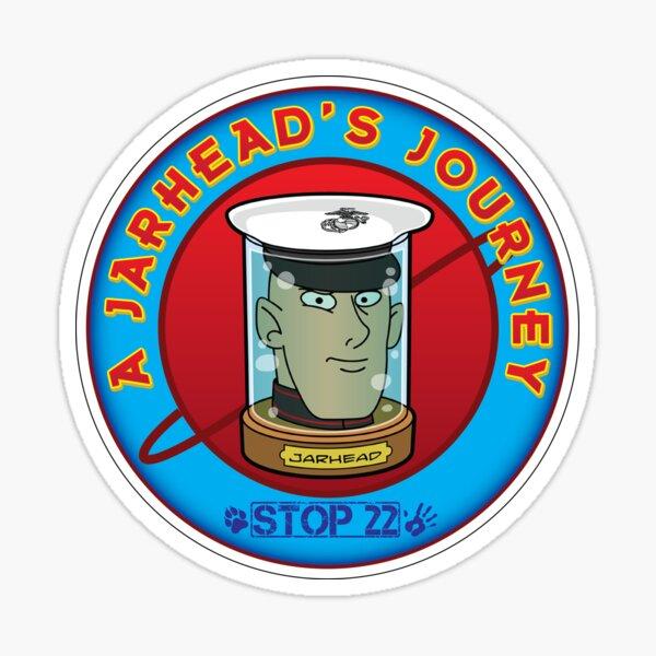 A Jarhead's Journey Sticker