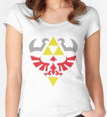 Hylian Hero Women's Fitted Scoop T-Shirt